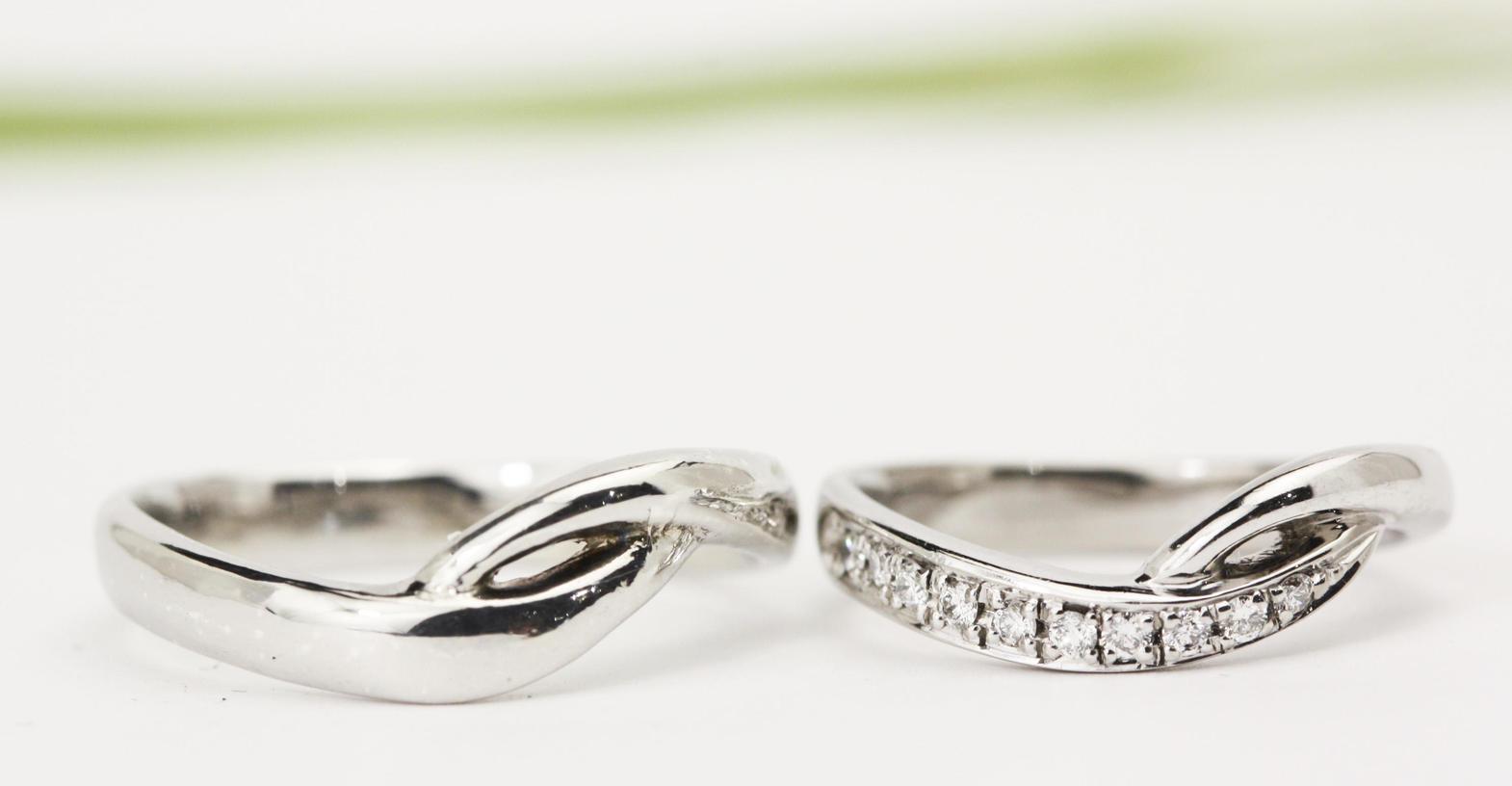 マーノオリジナル結婚指輪aoi