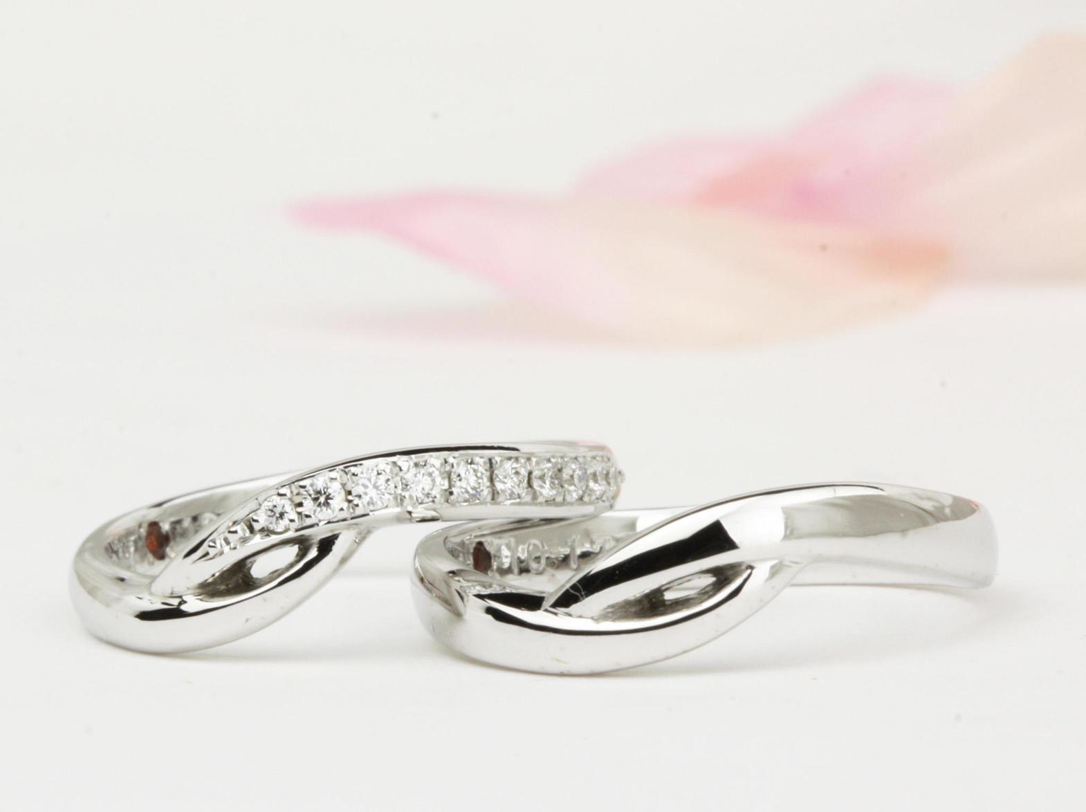 ひねりの結婚指輪オーダー