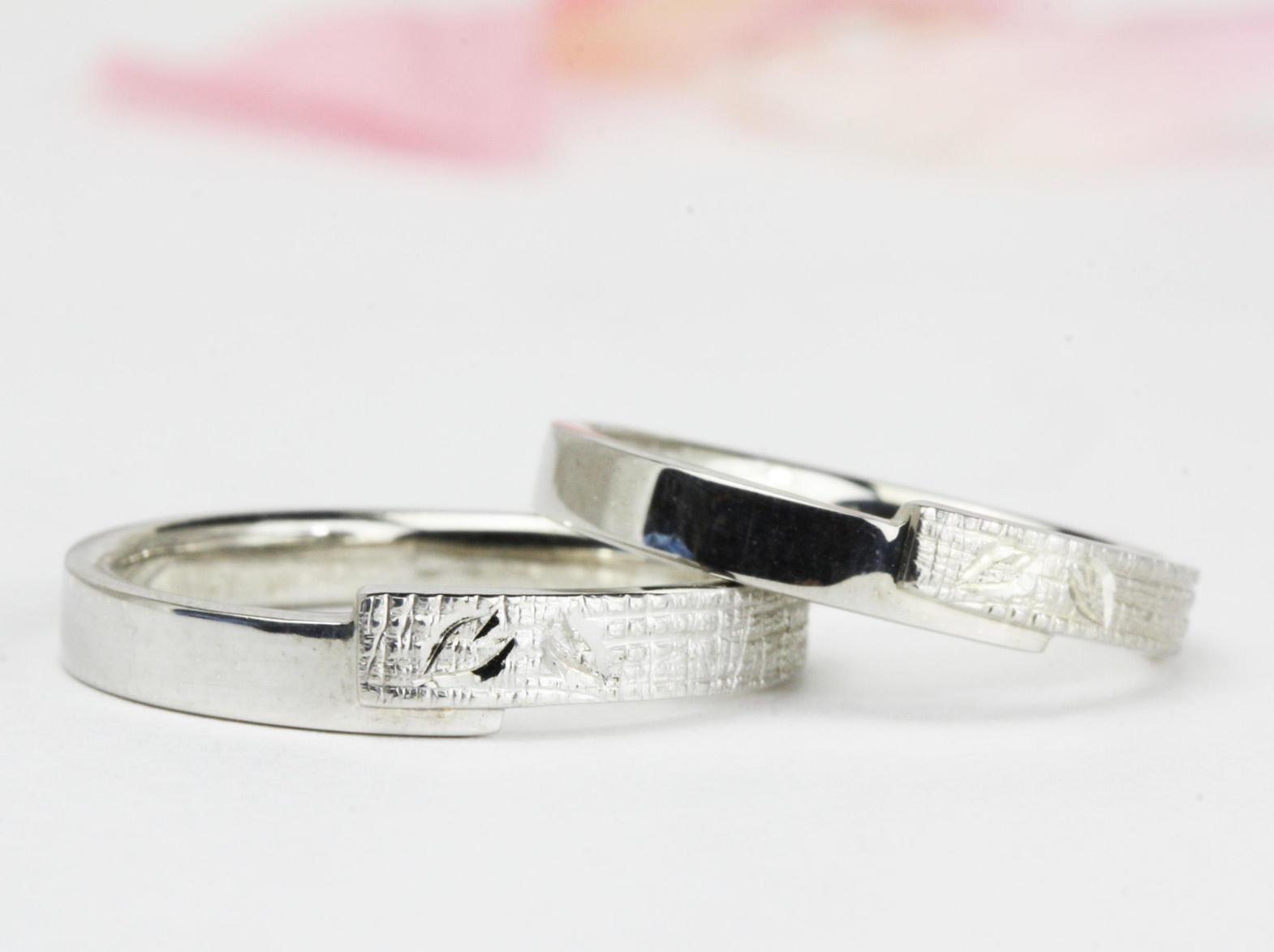 世界遺産「結城紬」の結婚指輪