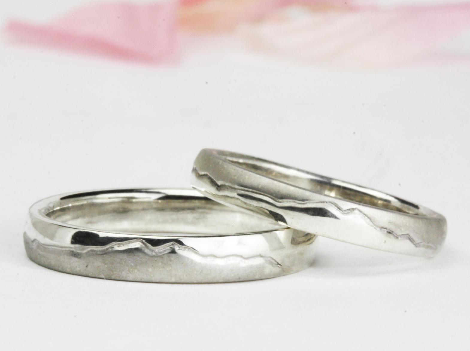筑波山(男体山)の結婚指輪
