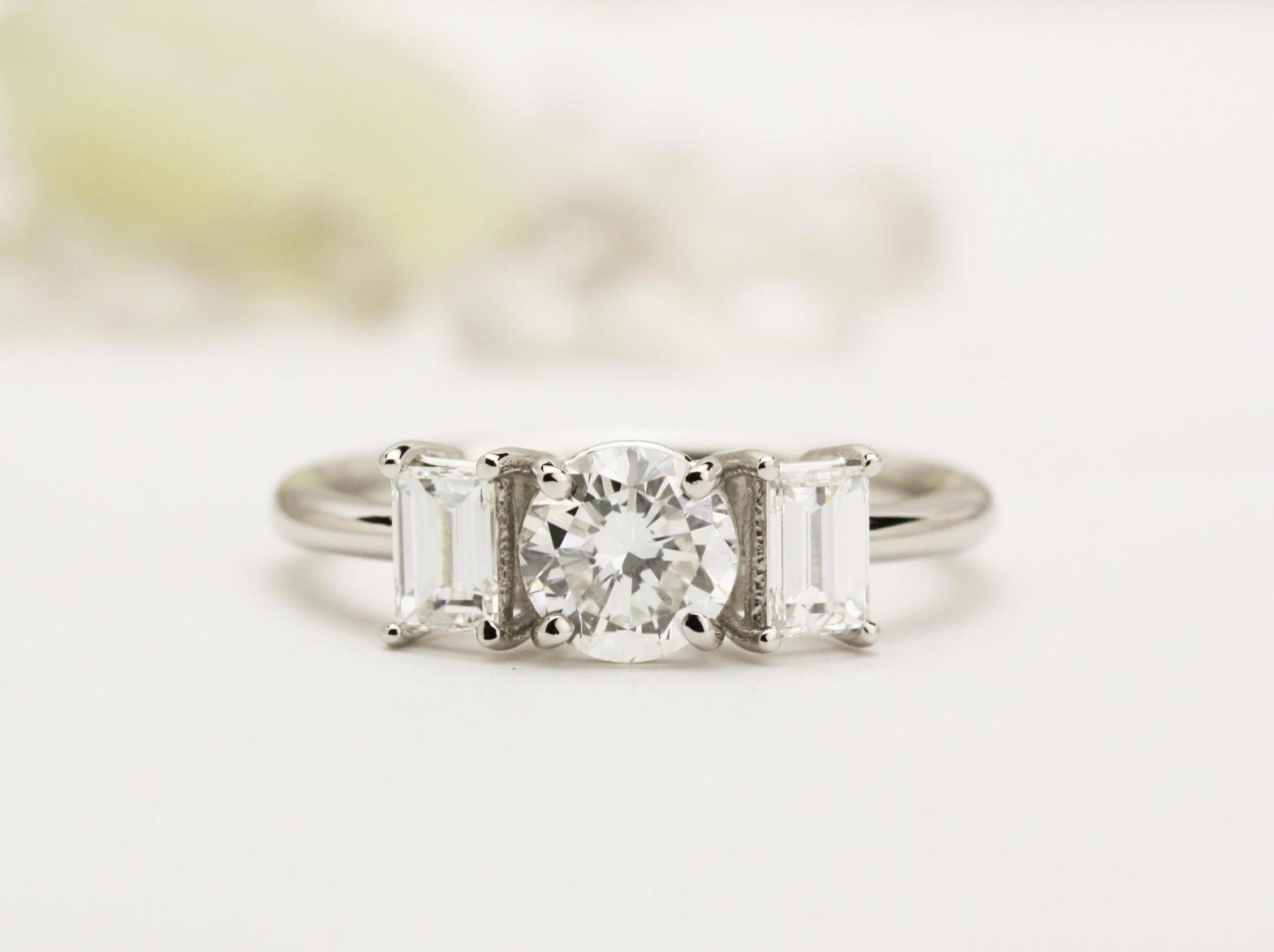 エレガントなダイヤモンドリングオーダー