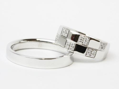 幅広の結婚指輪オーダー
